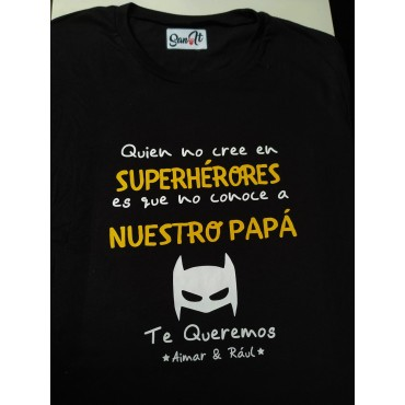 "Camiseta ""mi papá, mi..."