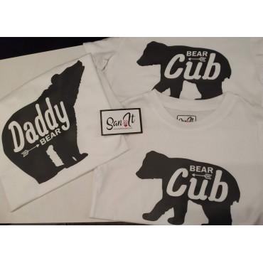 Camisetas Osos familia