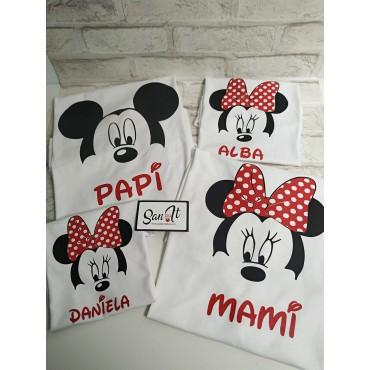 Camisetas familia ratoncito