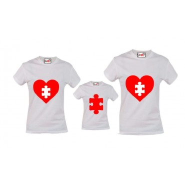 Camiseta Familia Corazon...