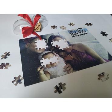 Puzzle foto-mensaje...
